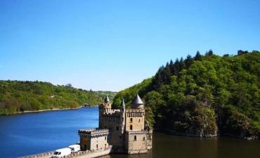 Château de la Roche direction Roanne
