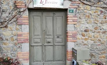 Entrée de La Ferrière