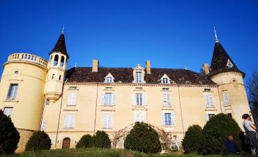 le château de St Médard en Forez